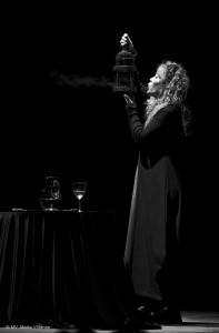 Ana Roncero, en una actuación anterior (foto cedida por la actriz).
