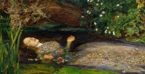 John E. Millais: Ofelia muerta