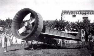 Primer prototipo de aerogenio (F. Gallego)