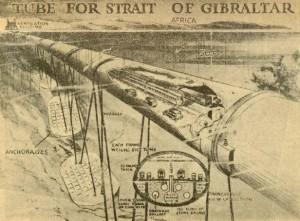 Proyecto para el túnel del Estrecho de Gibraltar (F. Gallego)