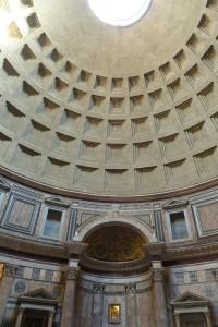 Panteón. Interior y cúpula.