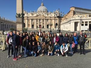 Plaza de San Pedro. Ciudad del Vaticano